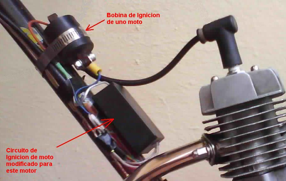 How to Increase the Power of the 48cc Engine of Motorized ...  Cc Motorized Bike Wiring Diagram For on