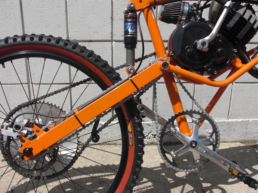 Rear Bicycle Wheel